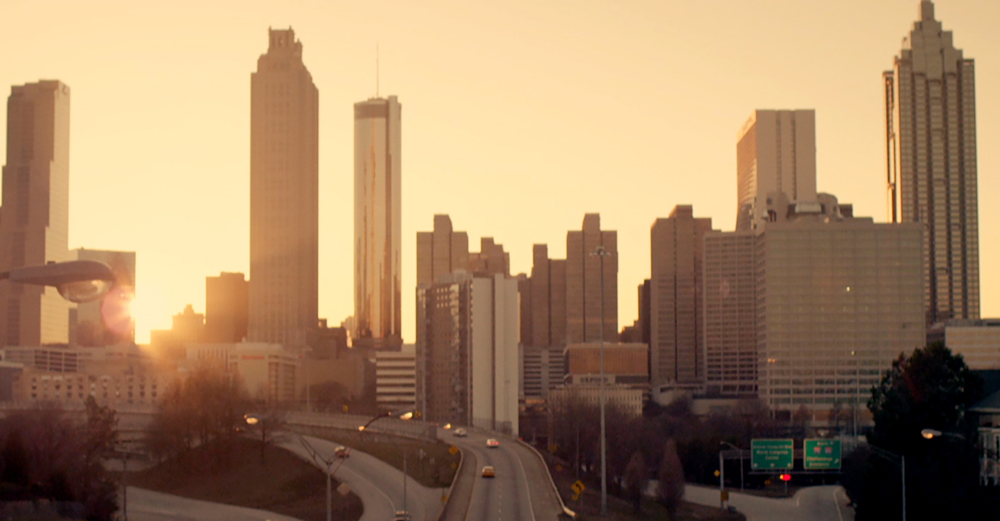 The Atlanta, Georgia skyline