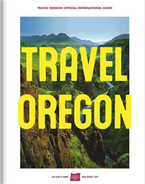 Travel Oregon Official International Guide cover image