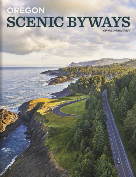Oregon Scenic Byways guide cover image