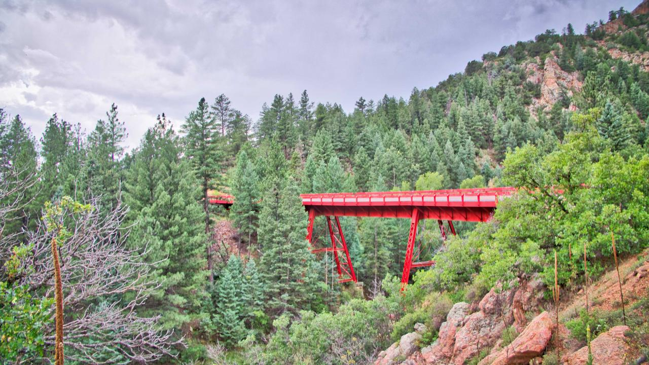 Traveling the Gold Belt Scenic Byway in Colorado
