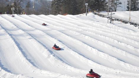 Snow Tubing in Pennsylvania