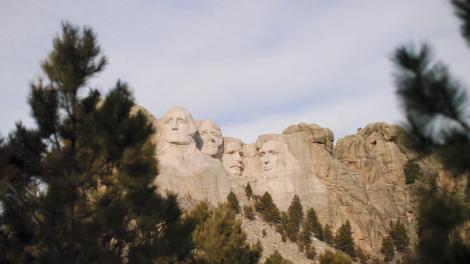 Mount Rushmore National Memorial in South Dakota