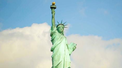 The Statue of Liberty, a New York City icon