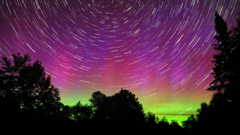 Areas Like Milo, Maine, And Aroostook County Make Spectacular Places To  Catch The Northern Lights U2014 And Some Epic Star Trails, If Youu0027re Lucky.