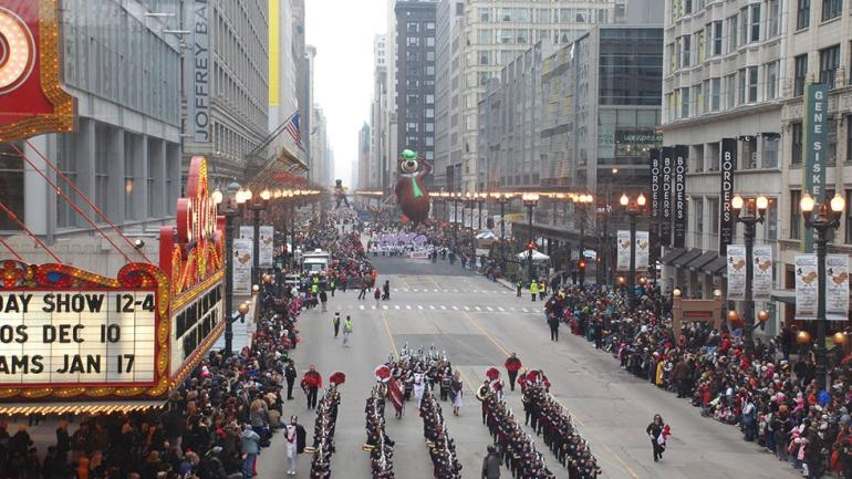 mcdonalds thanksgiving parade in chicago