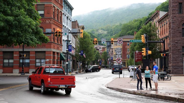 Pocono Mountains Pennsylvania  USA Outdoors Vacation