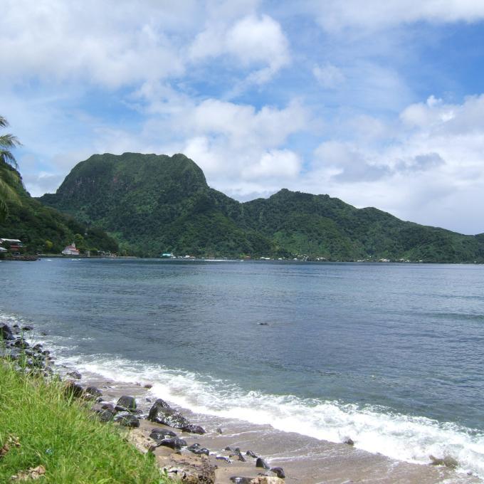 Samoa Beaches: Pago Pago, American Samoa: The Capital City On The Harbor