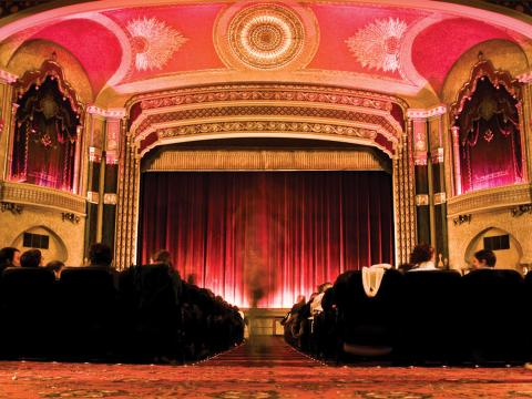 The Oriental Theater, site of the Milwaukee Film Festival