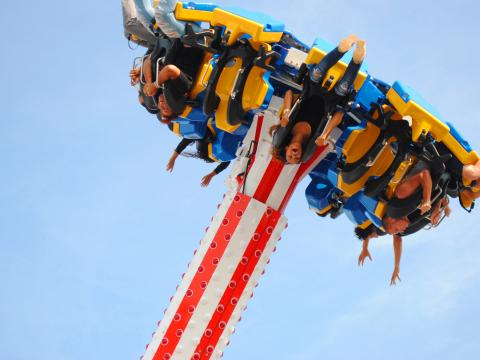 Thrill ride at the Osceola County Fair