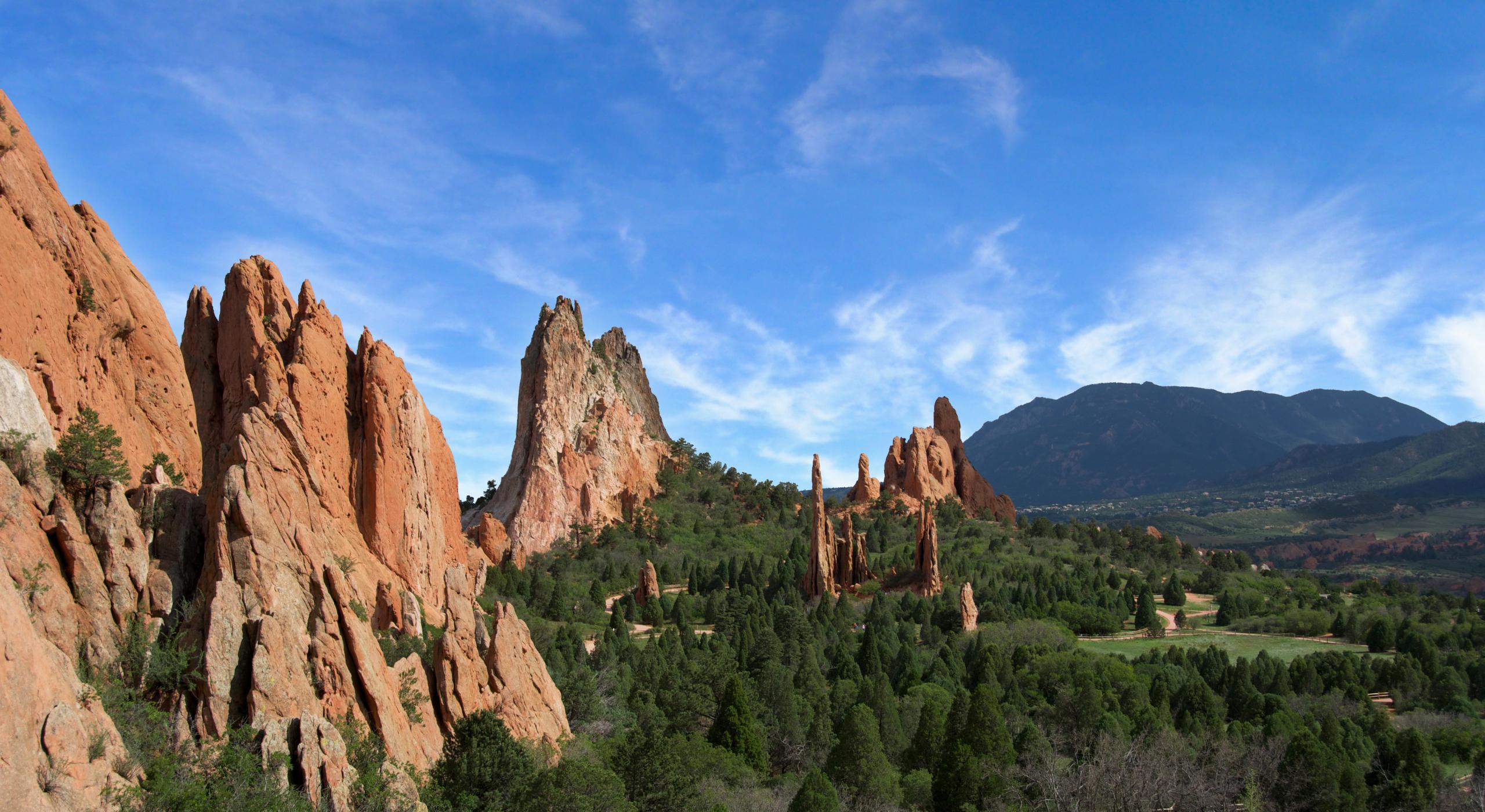 Garden Of The Gods Explore Colorado Springs Visit The Usa