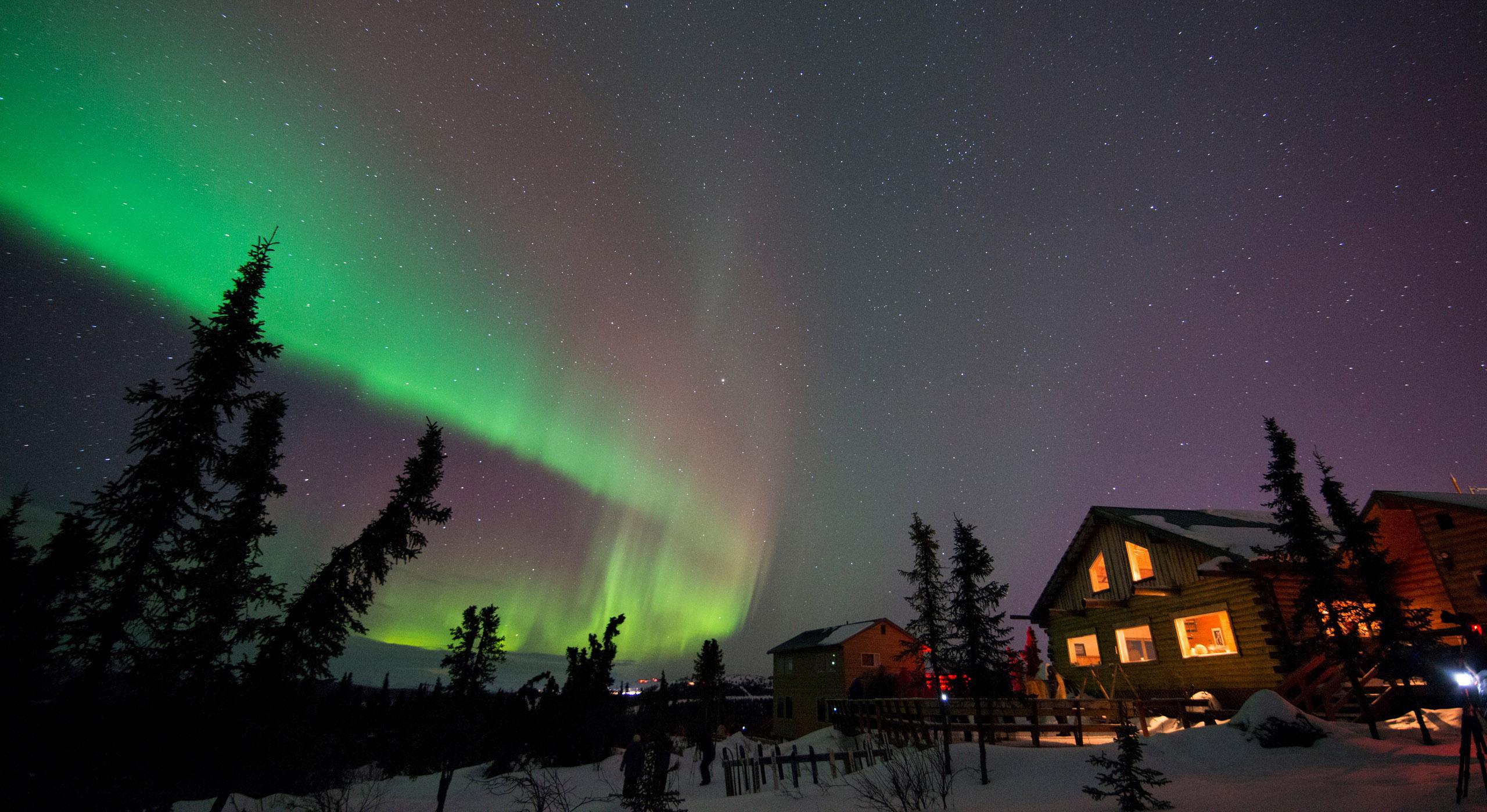 Fairbanks, Alaska: Midnight Lights & Magical Culture