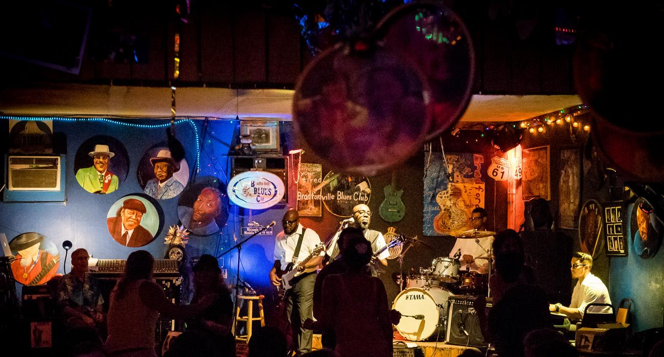 show at the bradfordville blues club in tallahassee, florida