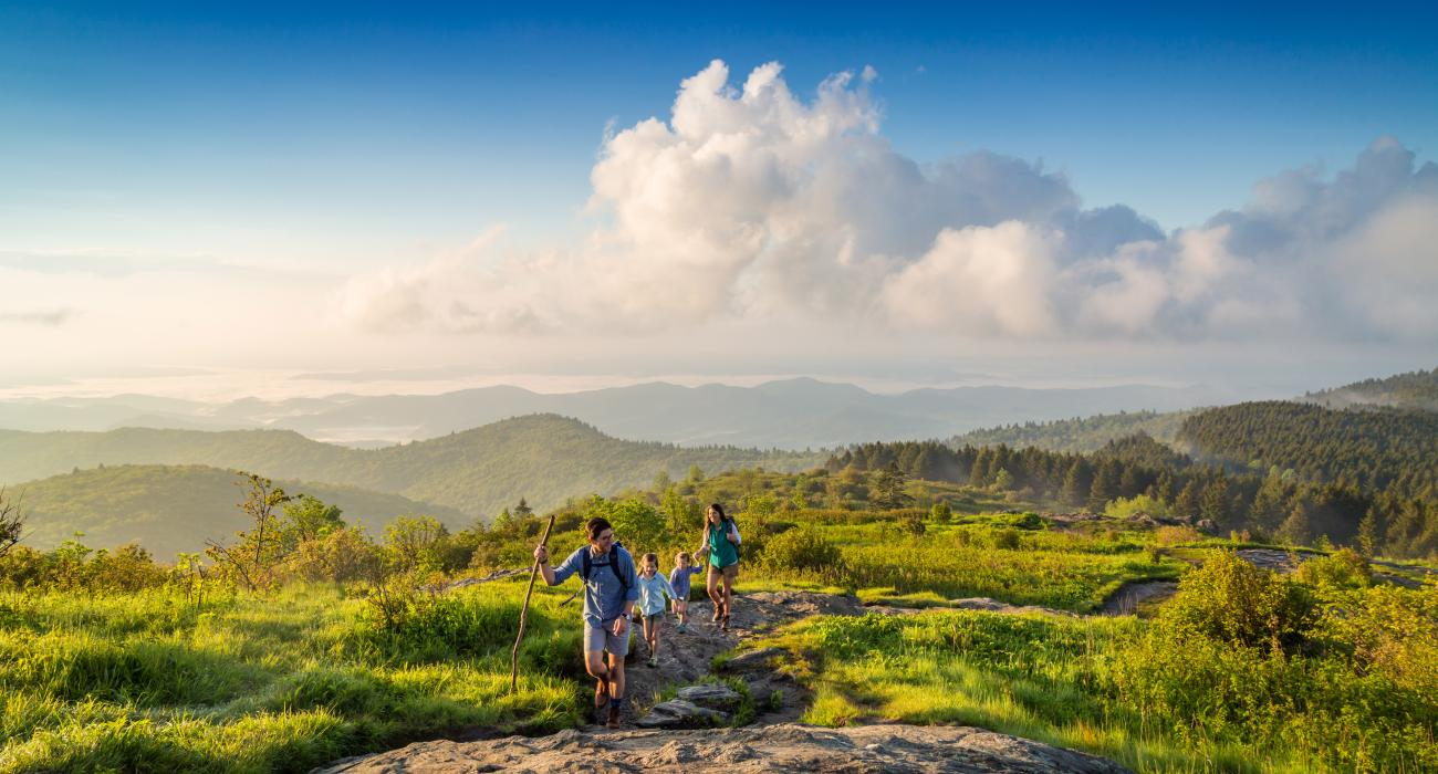Visit asheville north carolina asheville nc hiking at black balsam knob in the pisgah national forest publicscrutiny Image collections