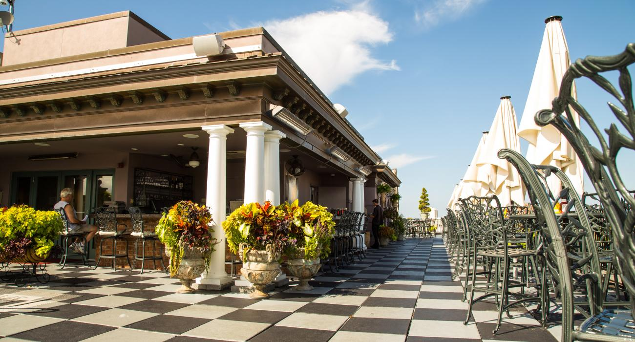 Rooftop Bar In Charleston, South Carolina