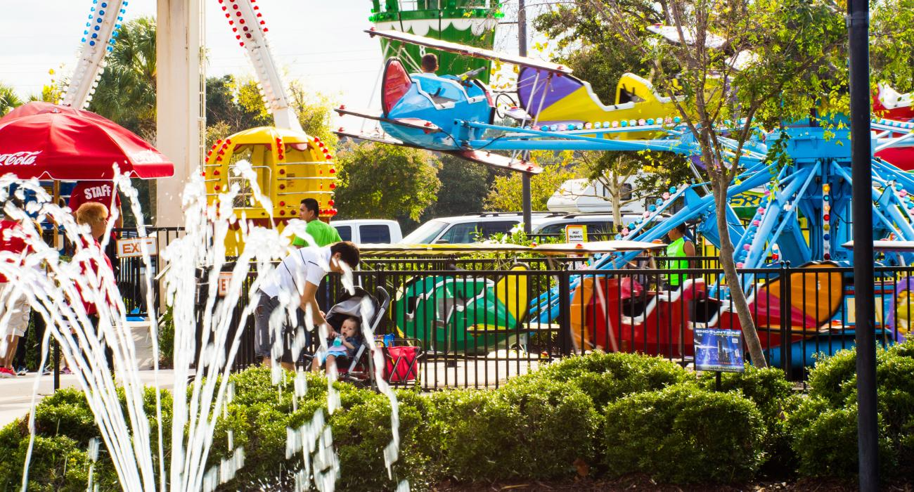 Carnival Rides And Family Fun In Myrtle Beach South Carolina