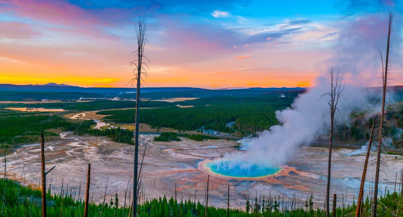 Yellowstone National Park Peace Nature And Wildlife