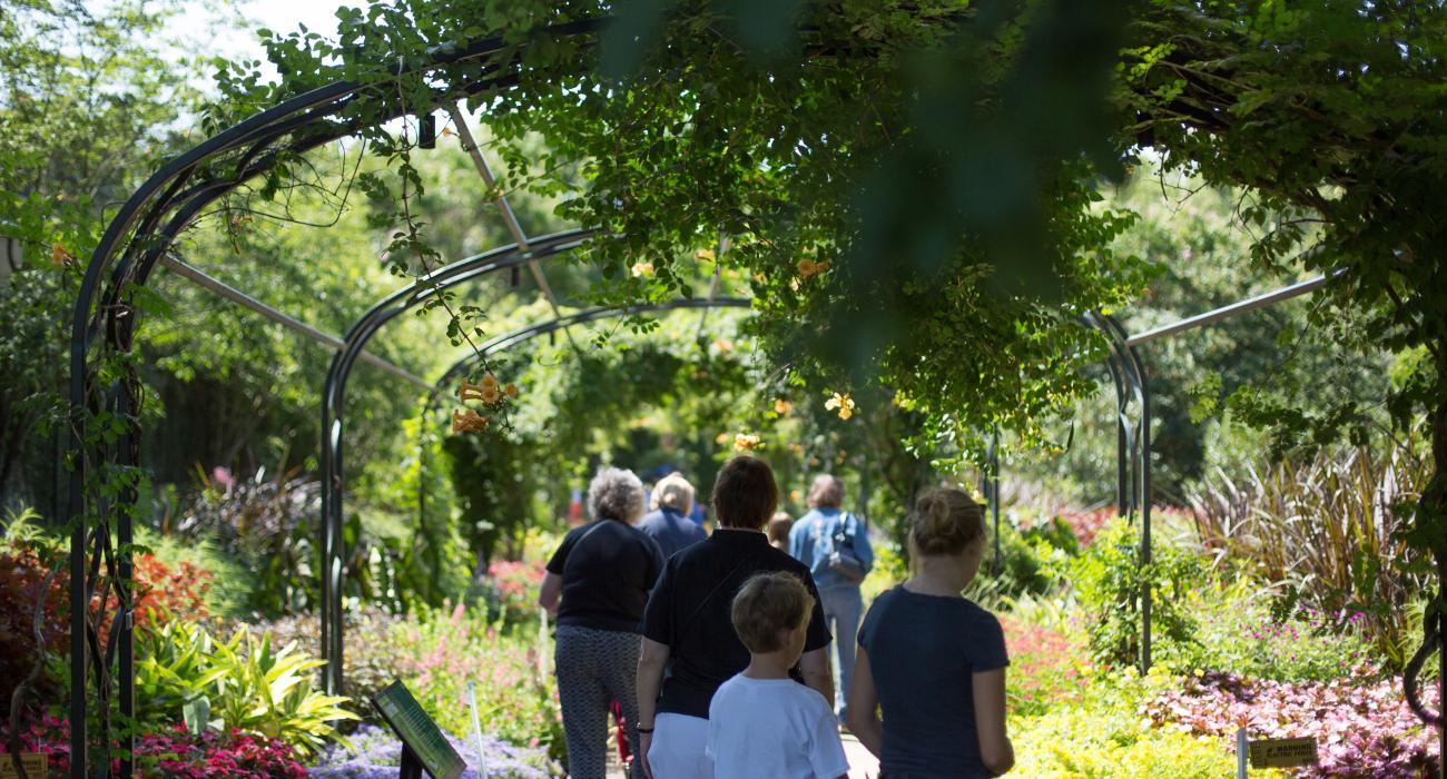 Cheekwood Botanical Gardens In Nashville, Tennessee
