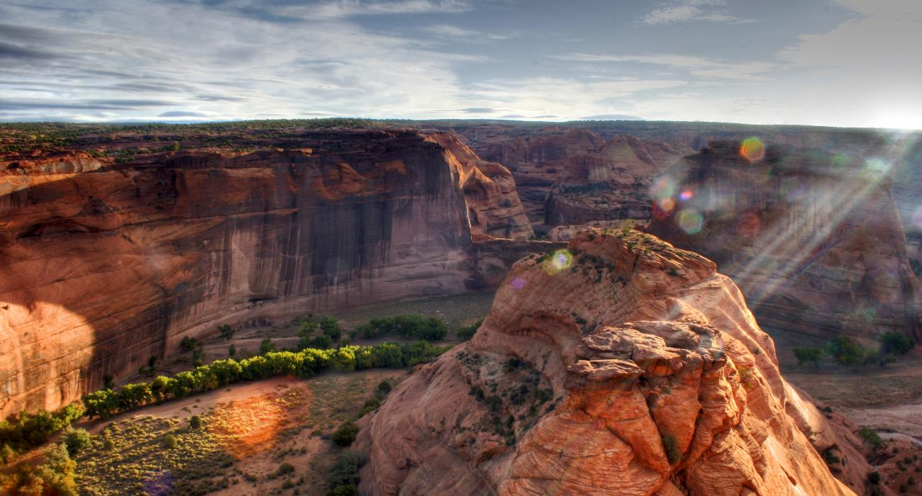 where to see the great outdoors on native american land