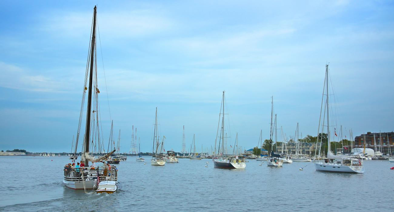 Annapolis and Chesapeake Bay Sailing in Maryland