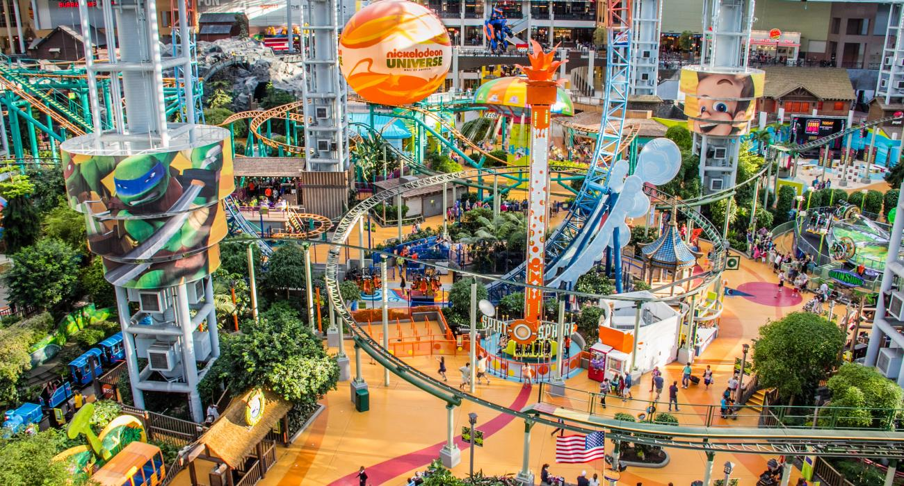 Image result for Mall of America in Bloomington, Minnesota