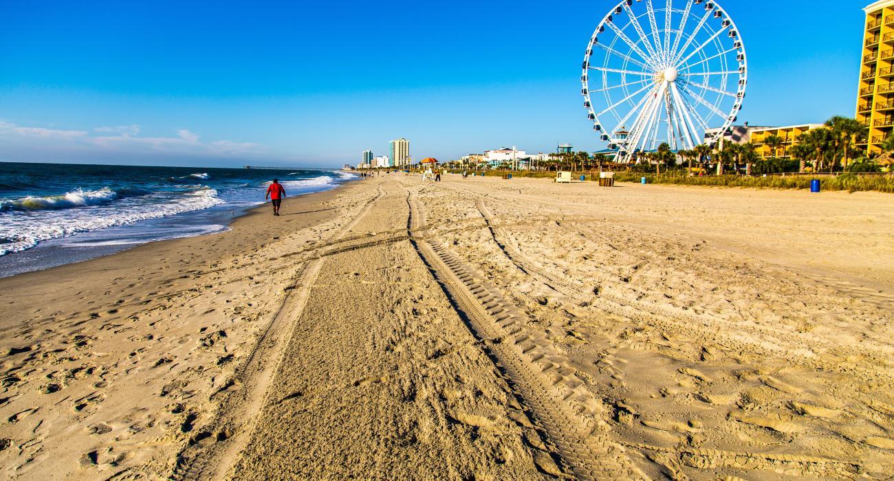 Myrtle Beach Skywheel Sand