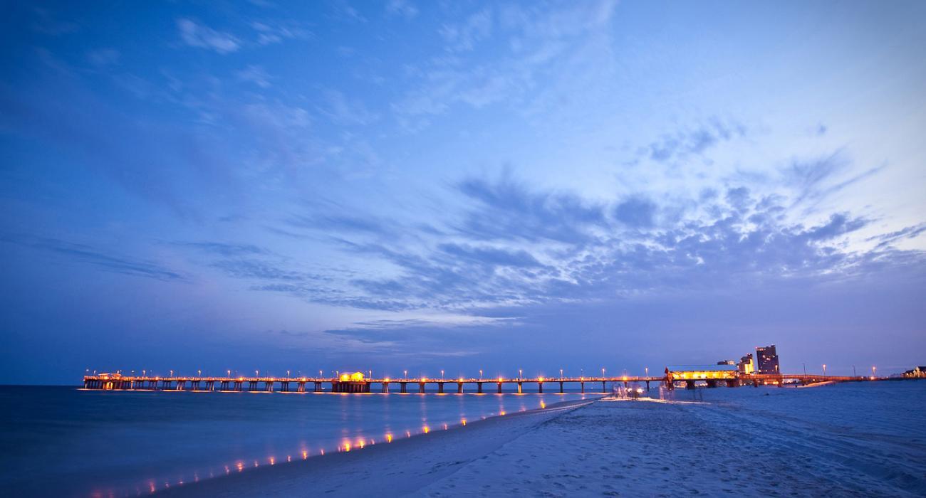 Gulf shores and orange beach alabama gulf shores orange for Pier fishing gulf shores al