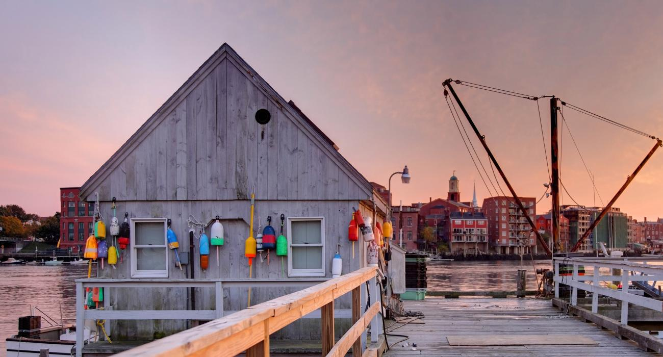A Fisherman S Hut Along The Piaqua River In Kittery