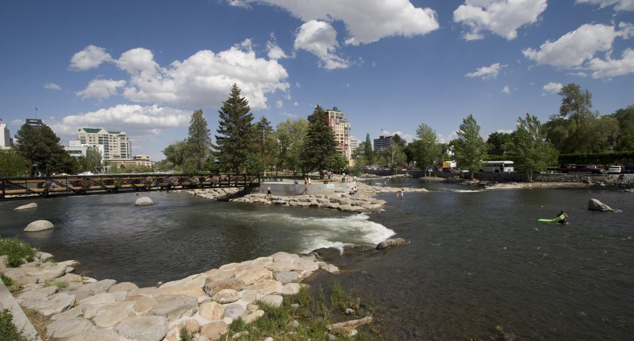 Image result for riverwalk district truckee river free use