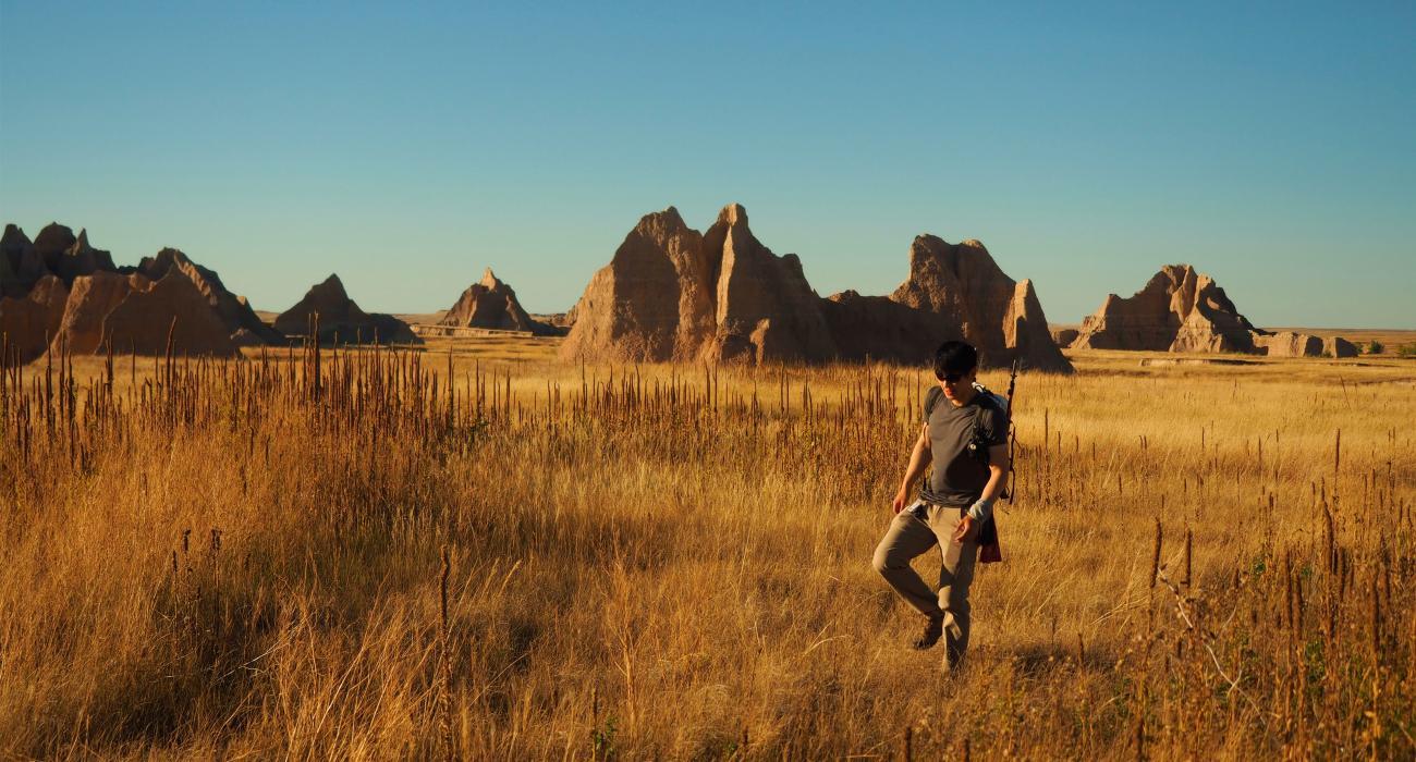 south dakota hiking trails