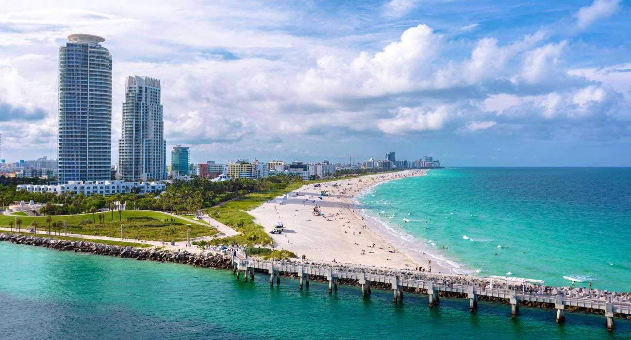 The South Point Of Miami Beach