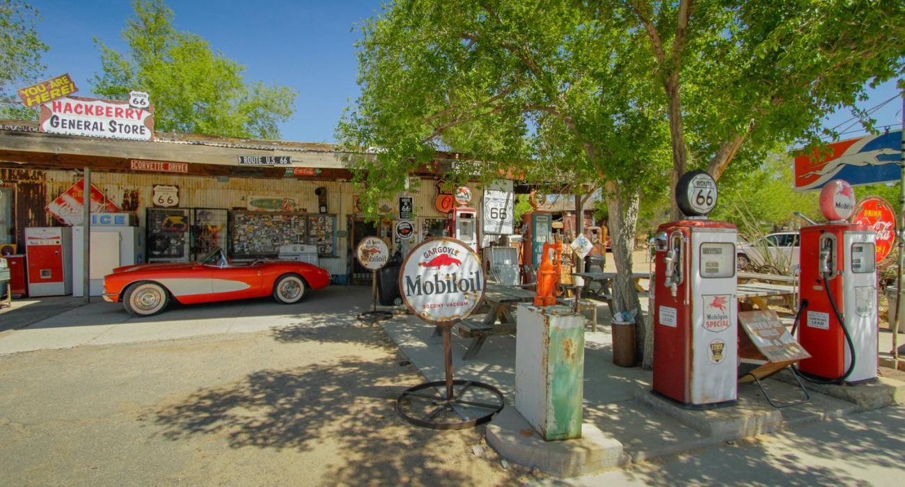 Arizona Desert Car Park