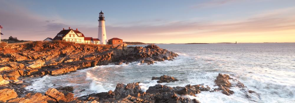 Portland Head Light in Cape Elizabeth, Maine