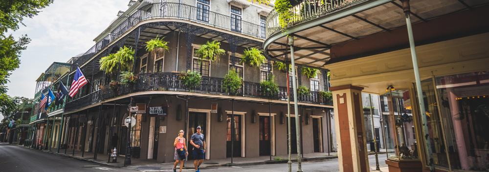 The French Quarter in New Orleans, Louisiana