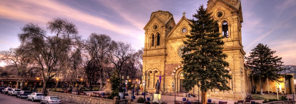 The Cathedral Basilica of St. Francis of Assisi in Santa Fe, New Mexico